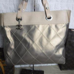 Women s Chanel Canvas Tote Bag on Poshmark 47e931dc11
